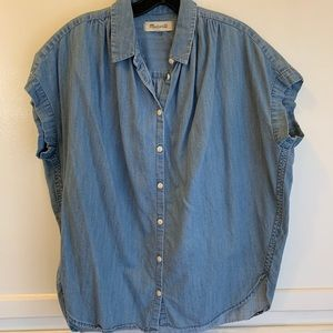 Madewell Central Shirt in Denim
